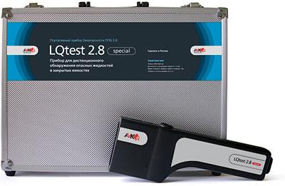 Ручной прибор для обнаружения опасных жидкостей в закрытых сосудах «LQtest»